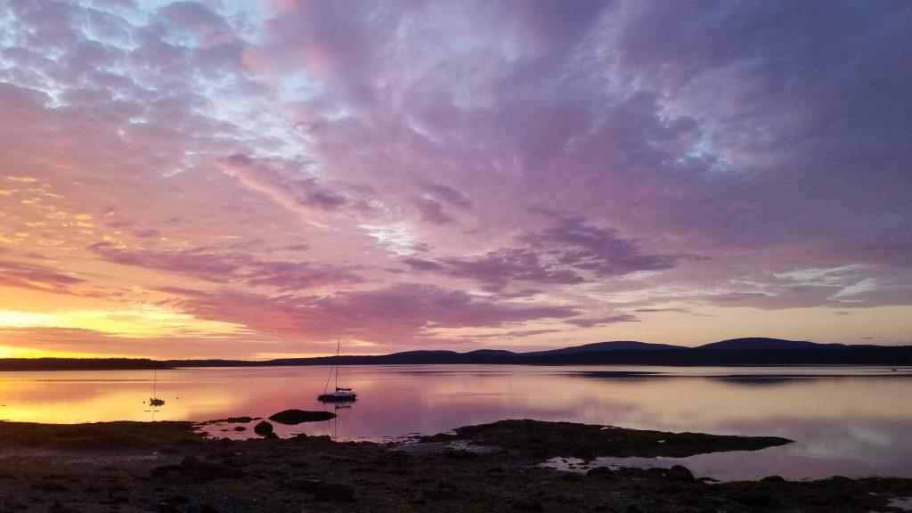 Bar Harbor View Cottage - sunrise
